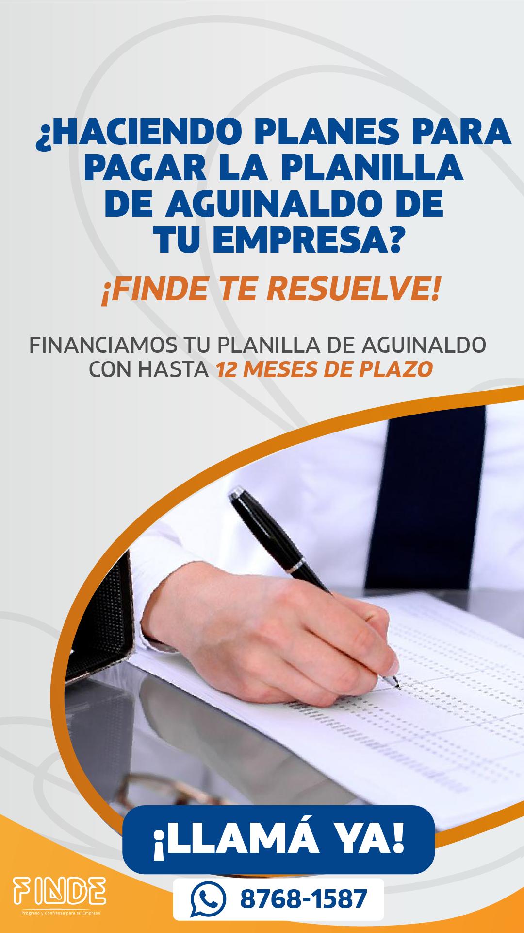 Dar a conocer el lanzamiento del crédito de aguinaldo FINDE